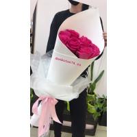 Букет из 15 роз Пинк Флойд