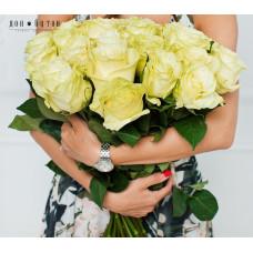 25 роз Мондиаль 60см