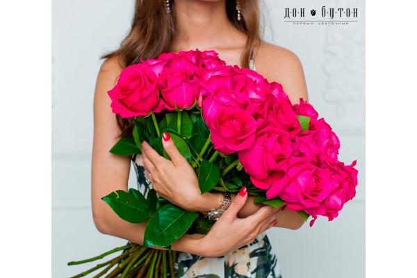 25 роз Пинк Флойд 60см