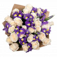 """Букет 38 цветов """"Белые ночи"""""""